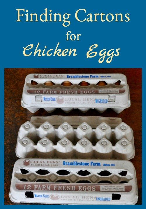 Finding Cartons for Chicken Eggs