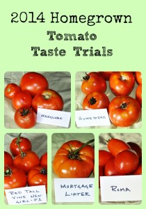 2014 Tomato Taste Trials via Better Hens and Gardens
