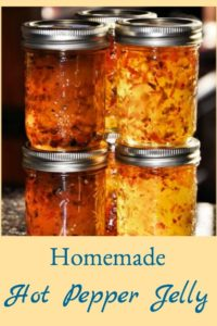 Homemade Hot Pepper Jelly
