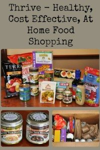 Thrive Market – Healthy, Cost Effective, Shopping From Home