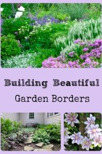 3 Steps For Building Beautiful Garden Borders