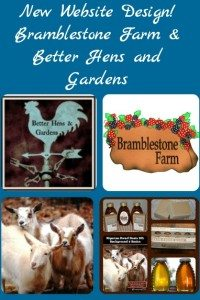 Welcome! New Combined Bramblestone Farm and Better Hens and Gardens Website