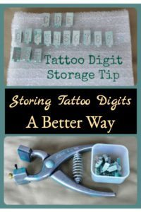 Tattoo Digit Storage Tip