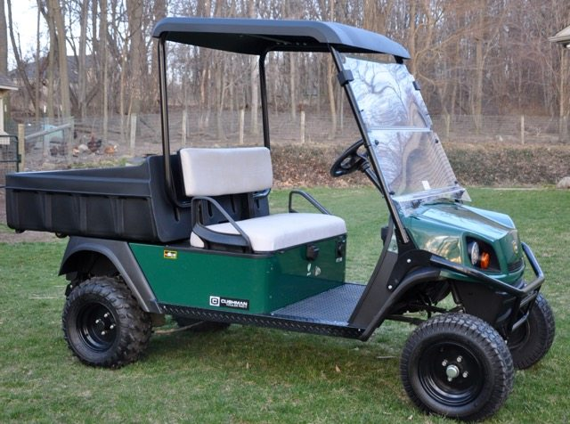 New Cushman Farm Cart Right