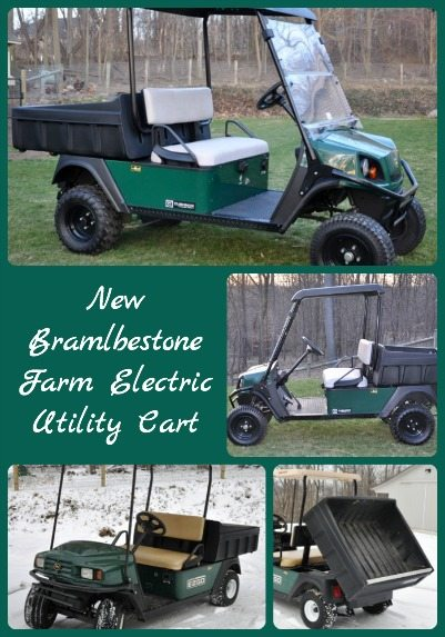 New Electric Utility Cart Collage