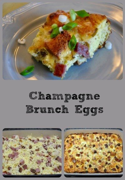 Champagne Brunch Eggs