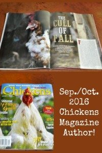 Published in Chickens!