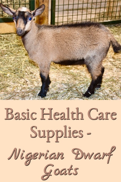 Basic Health Care Supplies