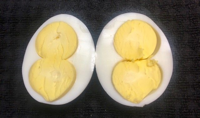 Hard-boiled Double-Yolk Egg