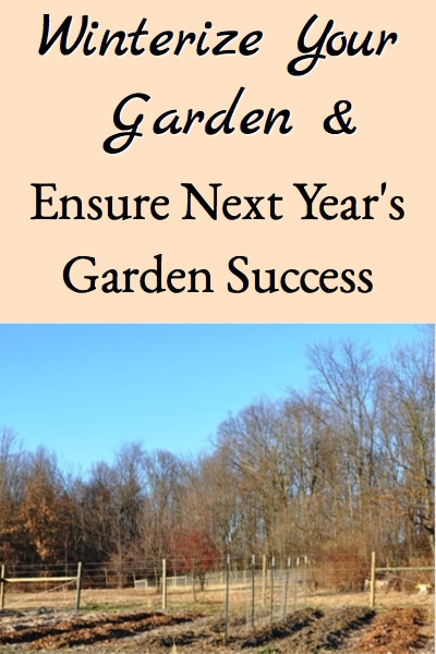 Winterizing The Garden to Ensure Next Year's Garden Success