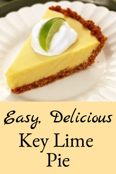 easy delicious key lime pie
