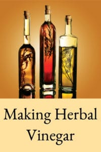 Making Herbal Vinegar