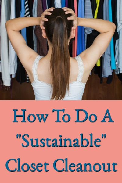 Sustainable Closet Cleanout