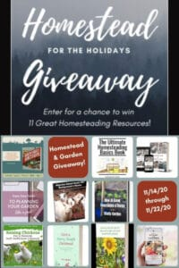 Homestead for the Holiday's Giveaway!