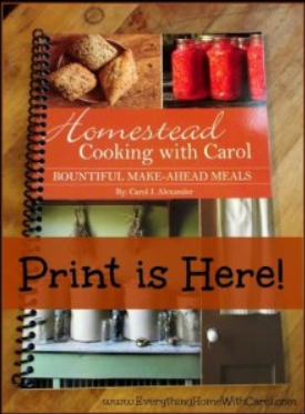 Homestead Cooking with Carol via Better Hens and Gardens