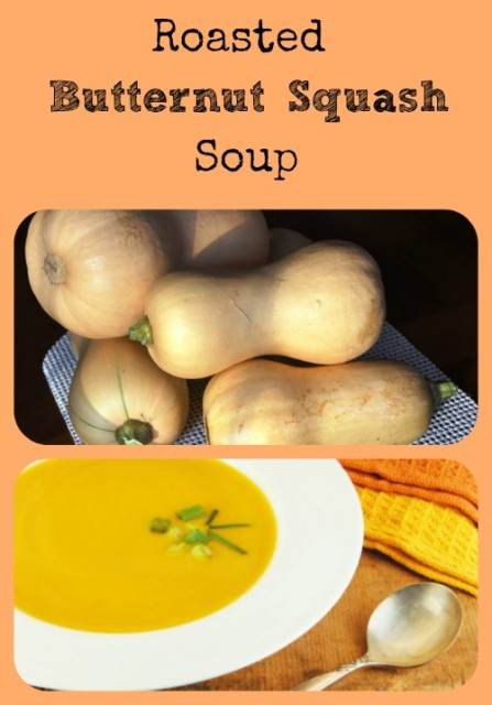 Roasted Butternut Squash Soup via Better Hens and Gardens